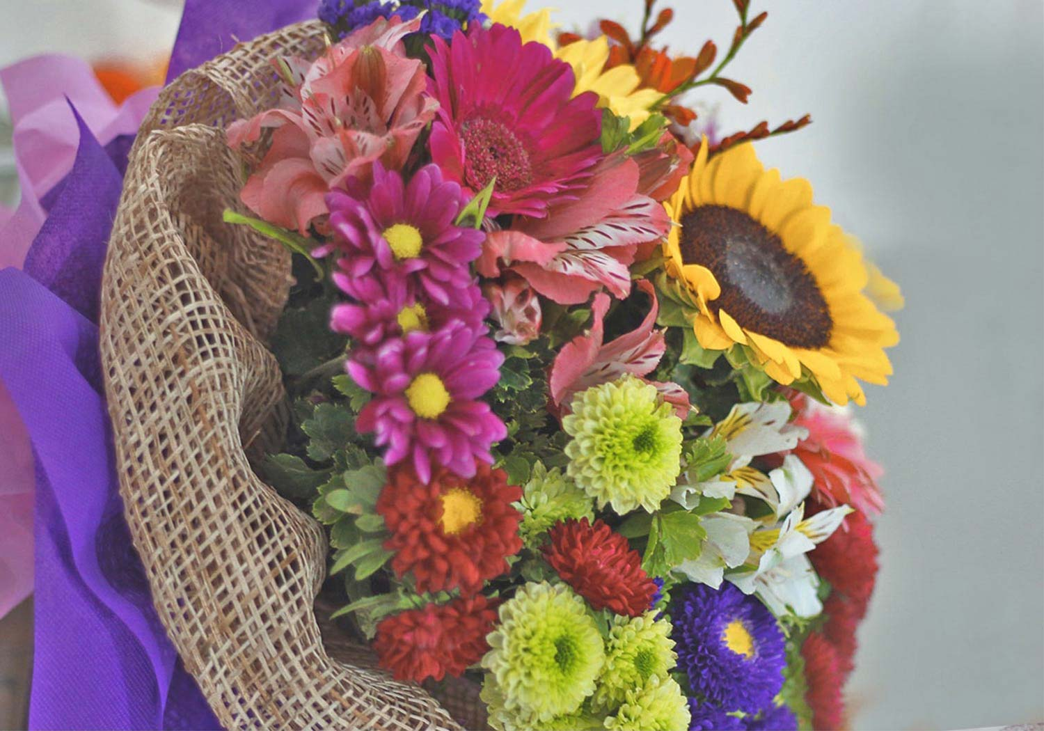 a-bouquet-of-mixed-colorful-flowers